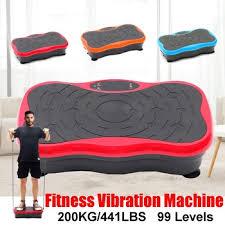 <b>200KG</b>/<b>441LBS</b> 500W Vibration Machine 99 gear button <b>Exercise</b> ...