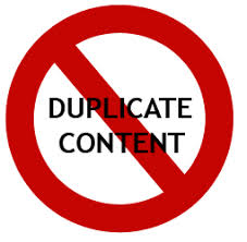 Google handle duplicate content