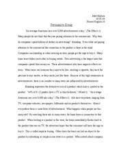 writing service for you   examples of a persuasive essay in high  of essay a high school examples persuasive in