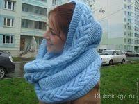шарфы, снуды, палантины, шали: лучшие изображения (256) в ...