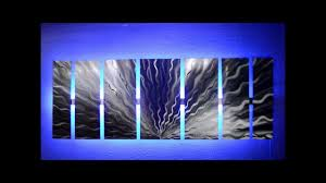 tree wall decor art youtube: wall art design ideas sources lighted wall art youtube sample led vibration silver great black
