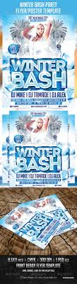 winter bash party poster template by majkolthemez graphicriver winter bash party poster template clubs parties events