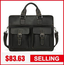 <b>JOYIR</b> Luxury <b>Genuine Leather Men</b> Briefcases Casual Business ...