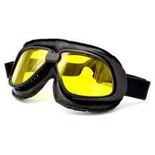 <b>BJMOTO</b> Retro <b>Motorcycle</b> Goggles Glasses Motocross Vintage ...