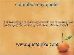 columbus-day quotes @ http://quotejoke.com - YouTube via Relatably.com