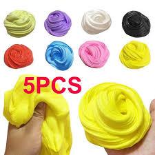 <b>5pcs Slime DIY</b> Creative Street Model Clay Soft Molded Oven ...