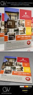 best flyer templates premium psd real estate flyer vol 5