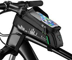 ROCKBROS <b>Bike</b> Frame Bag <b>Waterproof</b> Top Tube Bag Phone ...