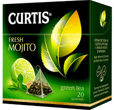 <b>Curtis</b> Fresh Mojito <b>зеленый чай</b> в пакетиках, 20 шт — купить в ...