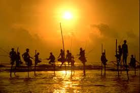 Image result for stilt fishing