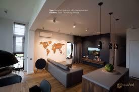 Living Room Borders World Map Zebrano Mapawallcom