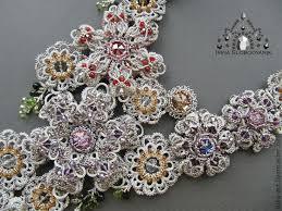 Купить <b>Колье</b> Baroque - серебряный, <b>серебристый</b>, <b>Сваровски</b> ...