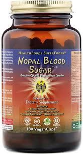 Healthforce Nopal Blood Sugar, Prickly Pear Cactus ... - Amazon.com