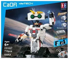 Радиоуправляемый <b>конструктор CaDa Technic Робот</b> КАКА 710 ...