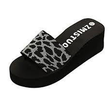 Buy Voberry <b>Summer Women Shoes Platform</b> Bath Slippers Wedge ...