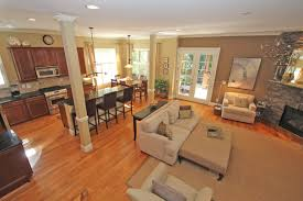 Paint For Open Living Room And Kitchen Open Kitchen And Living Room Color Ideas Seniordatingsitesfreecom