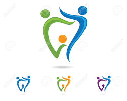 Abstract Vector Illustration Of Teeth. Dental Logo. Royalty Free ...