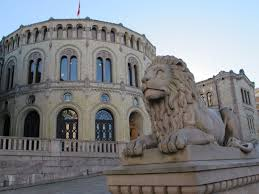 Image result for The parliament in Norway