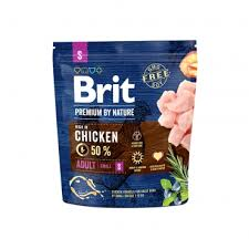 Полнорационный <b>сухой корм Brit Premium</b> by Nature Adult S для ...