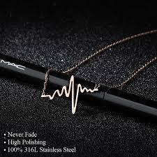 Trendy Women Choker Necklace Stainless Steel <b>Never Fade</b> ...