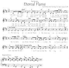 Eternal Flame Bangles Notenarchiv A Hans Peter Schneider