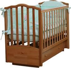 Детская <b>кроватка Кубаньлесстрой Жасмин</b> АБ 19.2