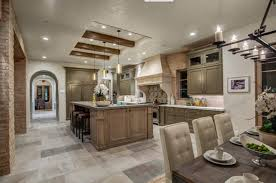kitchen design cabinets traditional light: the rich variety of materials in this kitchen are all pitched toward soft neutral hues