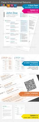 17 best images about modern resumes resume clean professional resume