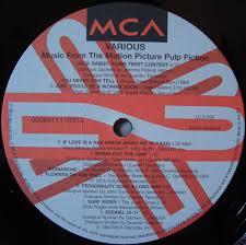Виниловая пластинка <b>OST</b> - <b>Pulp Fiction</b> (Music From The Motion ...