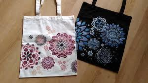 Výsledek obrázku pro malování na tašky