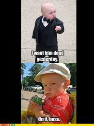 Baby Godfather's Evil Henchman - Imgur via Relatably.com
