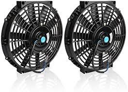 Universal Slim Fan Push Pull Electric Radiator <b>Cooling Fans</b> 12V ...