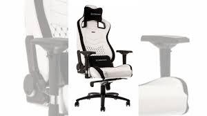 <b>Игровое кресло Noblechairs</b> белое купить в Урус-Мартане ...
