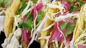 <b>Recipe</b>: Tacos, Street Fish (Jerk) w/ Pickled Red Onions :: Resource ...