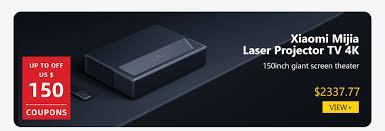 Оригинальный лазерный Проекционный телевизор <b>Xiaomi Mijia</b> ...