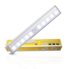 <b>CHIZAO</b> Motion Sensor Night <b>Light</b> Wireless PIR <b>Lights</b> Bar for ...