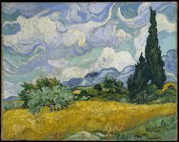 <b>Wheat Field with</b> Cypresses - Vincent van Gogh — Google Arts ...