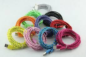 Buy 10pcs/Lot 1M/2M/3M Colorful Fabric Braided 8 ... - Aliexpress.com