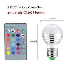 Annibus LED Night Light: 3W 5W 7W RGB Led Bulb ... - Amazon.com