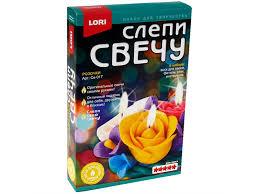 """Набор для изготовления свечей <b>Lori</b> """"<b>Слепи свечу</b>. <b>Розочки</b> ..."""