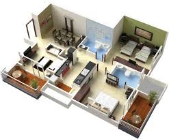 d  Floor plans and d home design on Pinterest