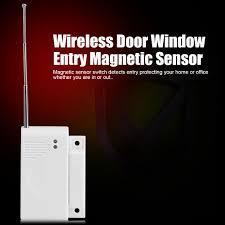 433MHZ <b>Wireless Door Window</b> Entry Magnetic Sensor Alarm $2.87