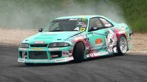400hp Nissan <b>Skyline</b> R33 <b>Drifting</b> - 2014 King of Europe Round 2 ...