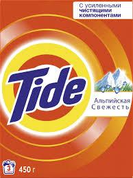 """<b>Порошок стиральный</b> Tide """"Альпийская свежесть"""", <b>автомат</b>, <b>450</b> г ..."""