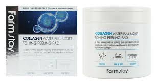 Farmstay Collagen Water Full Moist Toning Peeling Pad ...