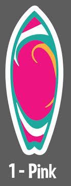 NIXON Surfboard Sticker Longboard Skate Sticker Bomb ORANGE ...