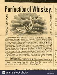 whiskey ad stock photos whiskey ad stock images alamy 1892 advertisement belle of nelson old fashioned hand made sour mash whiskey by bartley