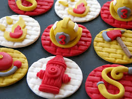 Firefighter Cupcake Decorations The Worlds Best Photos Of Firefighter And Fondant Flickr Hive Mind