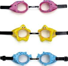 <b>Очки</b> для плавания <b>INTEX Fun</b> Goggles голубые - отзывы ...