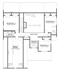 Bonus Room House Plans Remain a Hot Trend in Architectural DesignFLOOR PLAN SECOND STORY  amp  Bonus Area